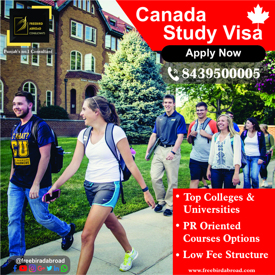 Apply for Canada Study Visa