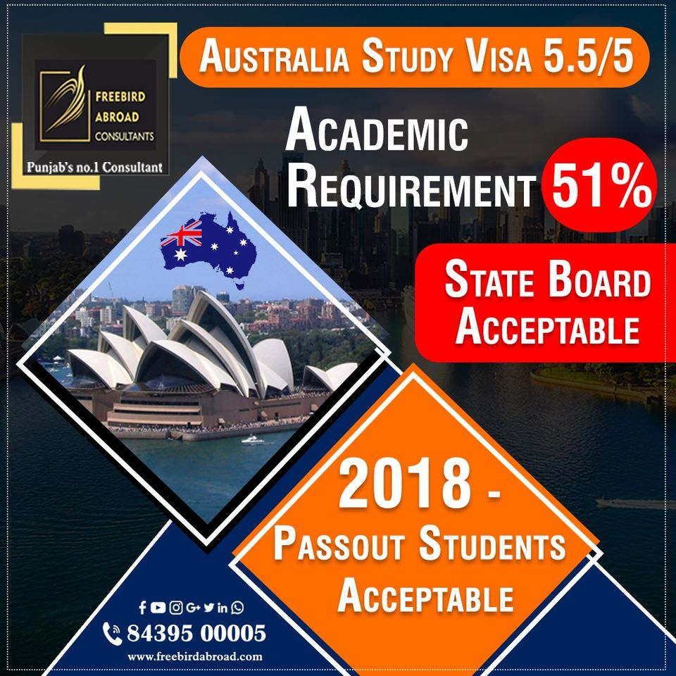 Study and Settle In Australia 2018