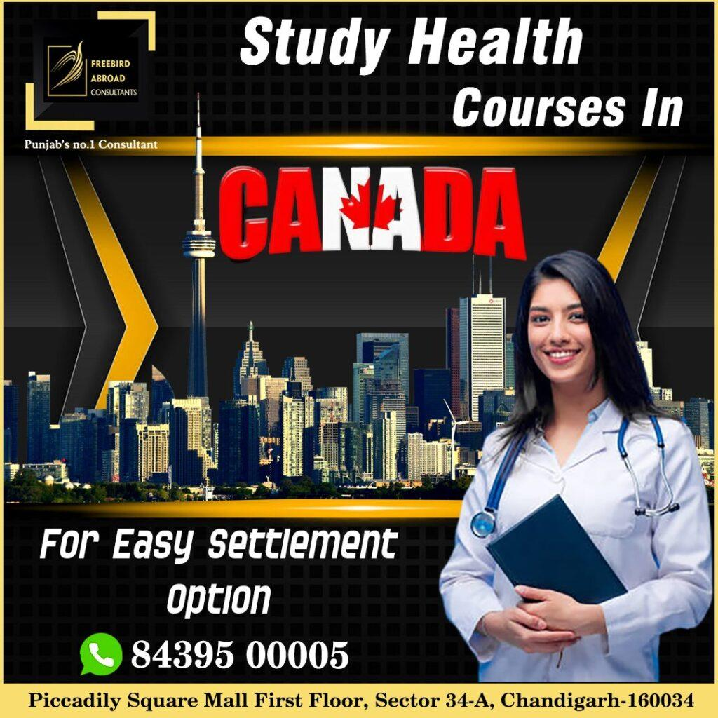 Study Health Courses in Canada